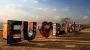 Letreiro da Ermida ganha cores e motivos de Brasília