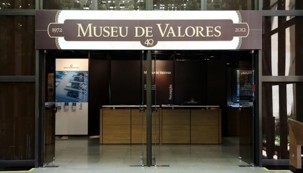 Museu de Valores guarda a história da revolução da moeda