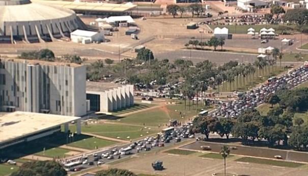 Governo de Brasília: Mais um protesto na Capital Federal