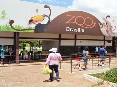 Resultado de imagem para zoologico de brasilia