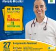 """Lançamento do livro – """"11 Hábitos em 11 Semanas"""", do Dr. Ícaro Alcântara"""