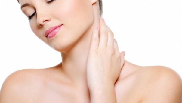 Cuidando do colo e pescoço